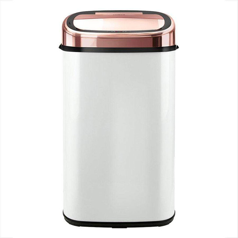 Tower White & Rose Gold Sensor Bin