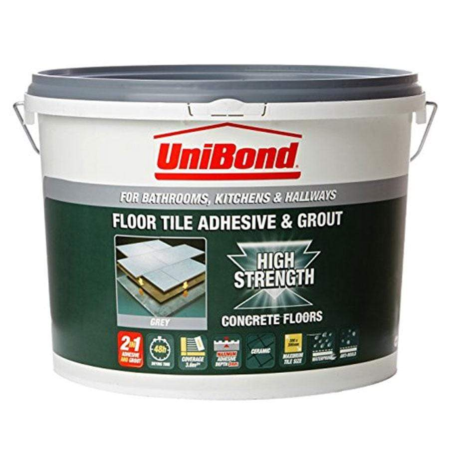 Unibond Adhesive For Tiling On Concrete Floor
