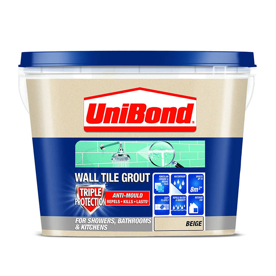 Unibond Ready Mixed Wall Tile Grout Beige