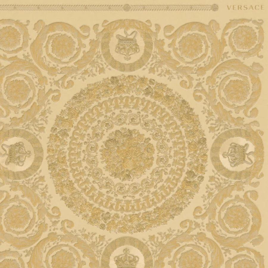 Versace Heritage Gold Wallpaper Sample - 37055-4