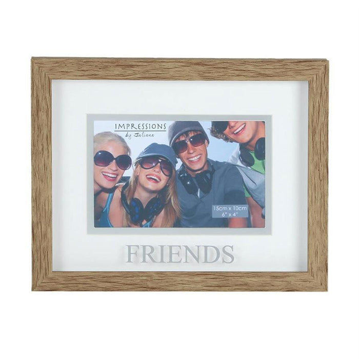 "Widdop 6x4"" Natural Wood Effect Frame Friends"