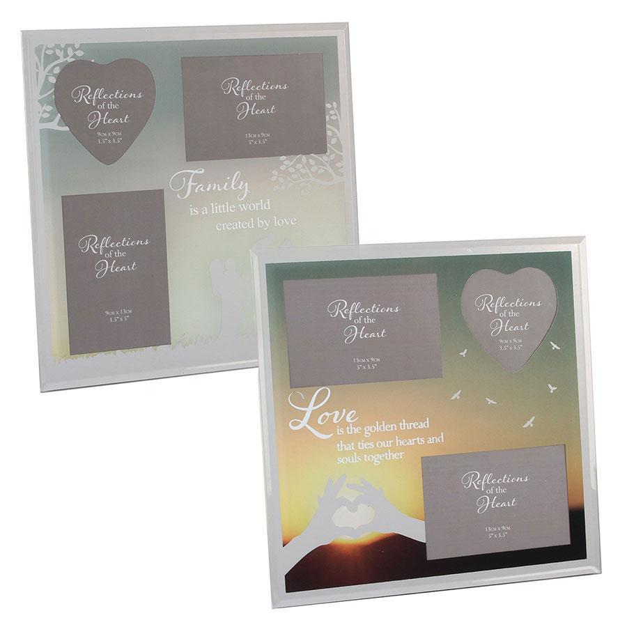 Widdop Reflections Of The Heart Collage Photo Frame