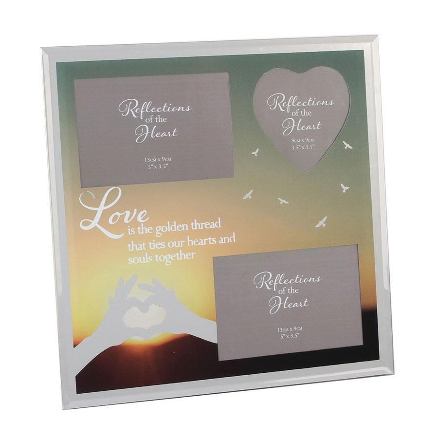 Widdop Reflections Of The Heart Collage Photo Frame Love