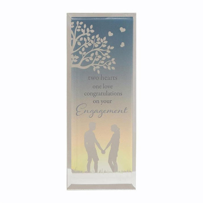 Widdop Reflections Of The Heart Standing Plaque Engagement