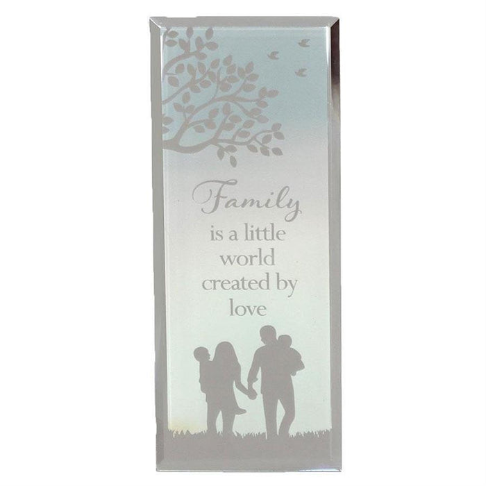 Widdop Reflections Of The Heart Standing Plaque Family