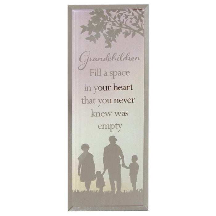Widdop Reflections Of The Heart Standing Plaque Grandchildren