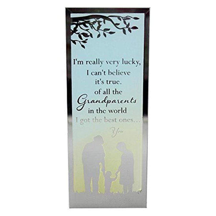 Widdop Reflections Of The Heart Standing Plaque Grandparents