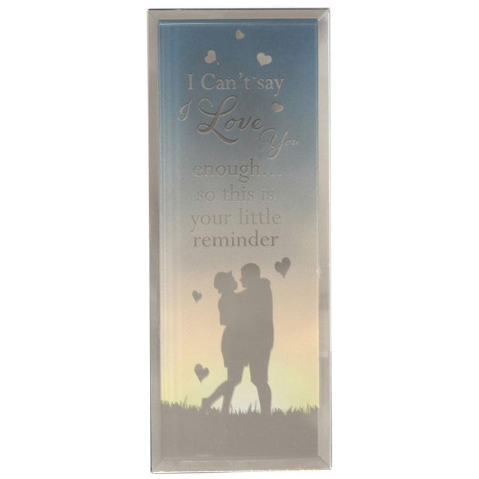 Widdop Reflections Of The Heart Standing Plaque Love