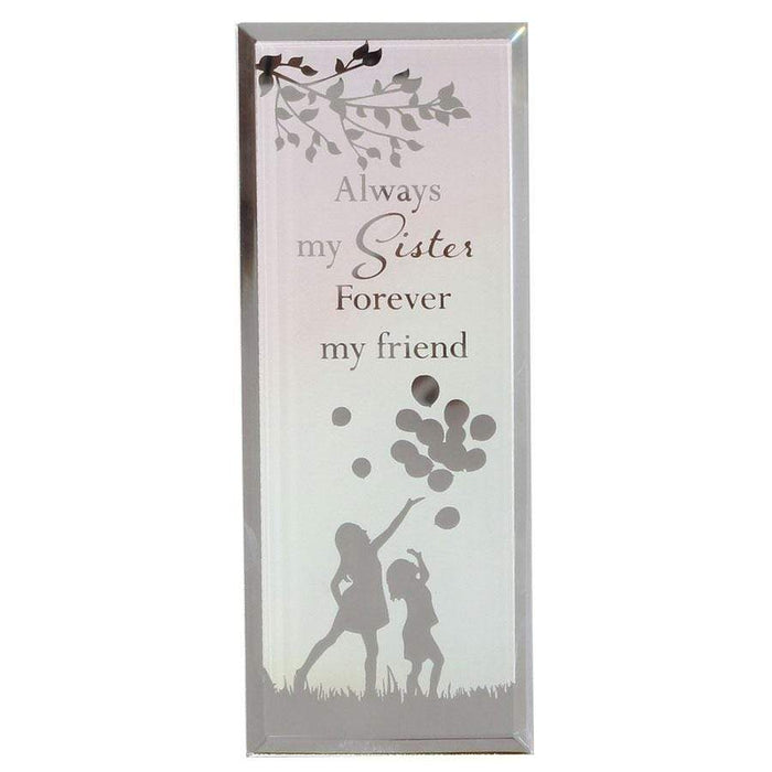 Widdop Reflections Of The Heart Standing Plaque Sister
