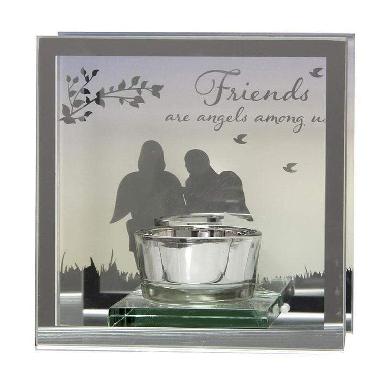 Widdop Reflections Of The Heart Tea Light Holder Friends