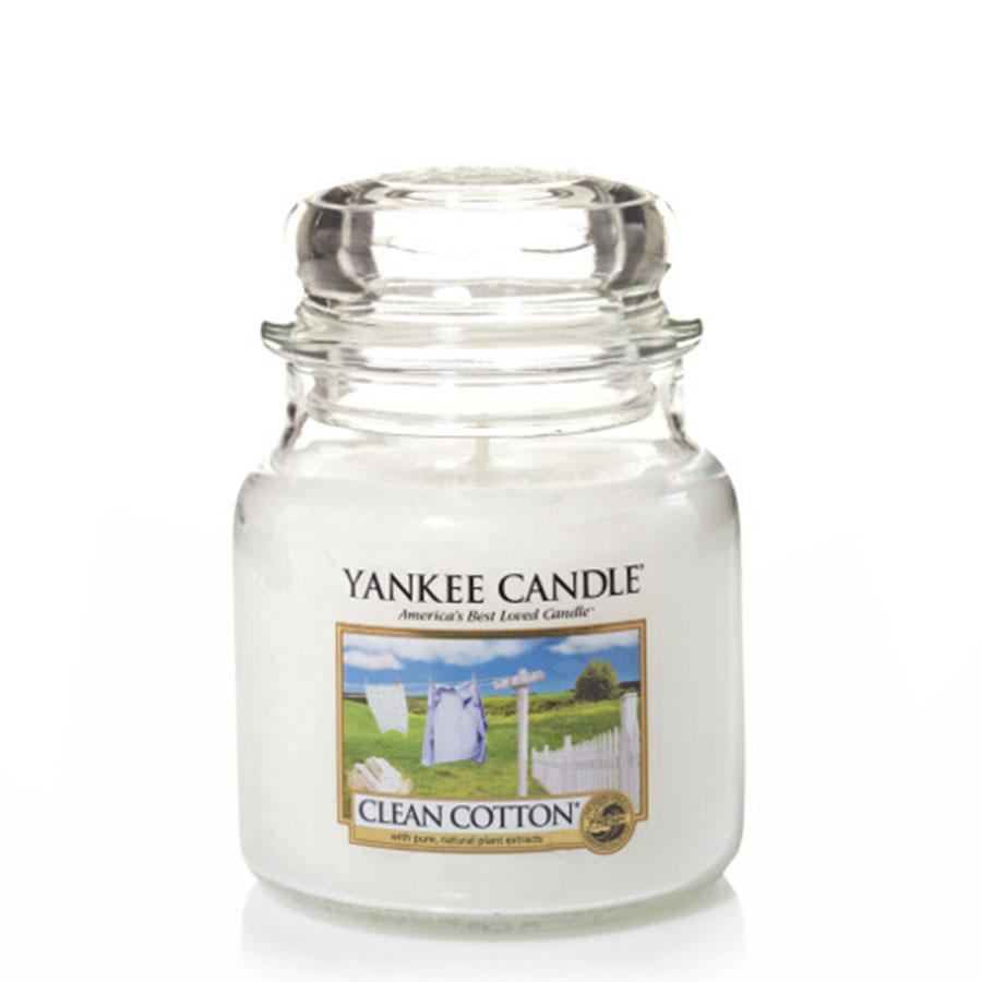 Yankee Classic Jar Clean Cotton