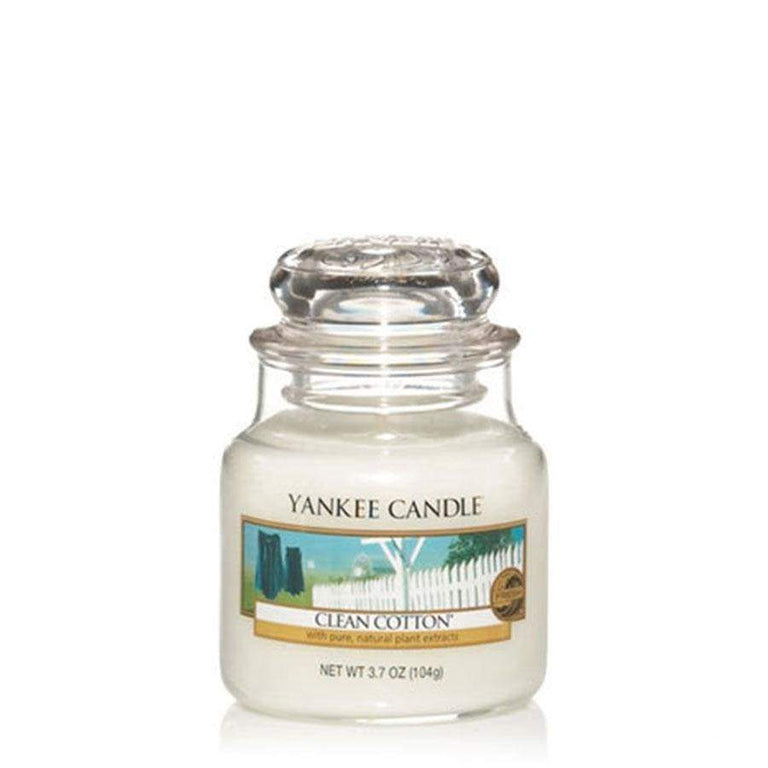 Yankee Classic Jar Clean Cotton Large