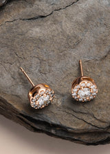 Rose Gold|1/3 Carat Total Weight (Single)