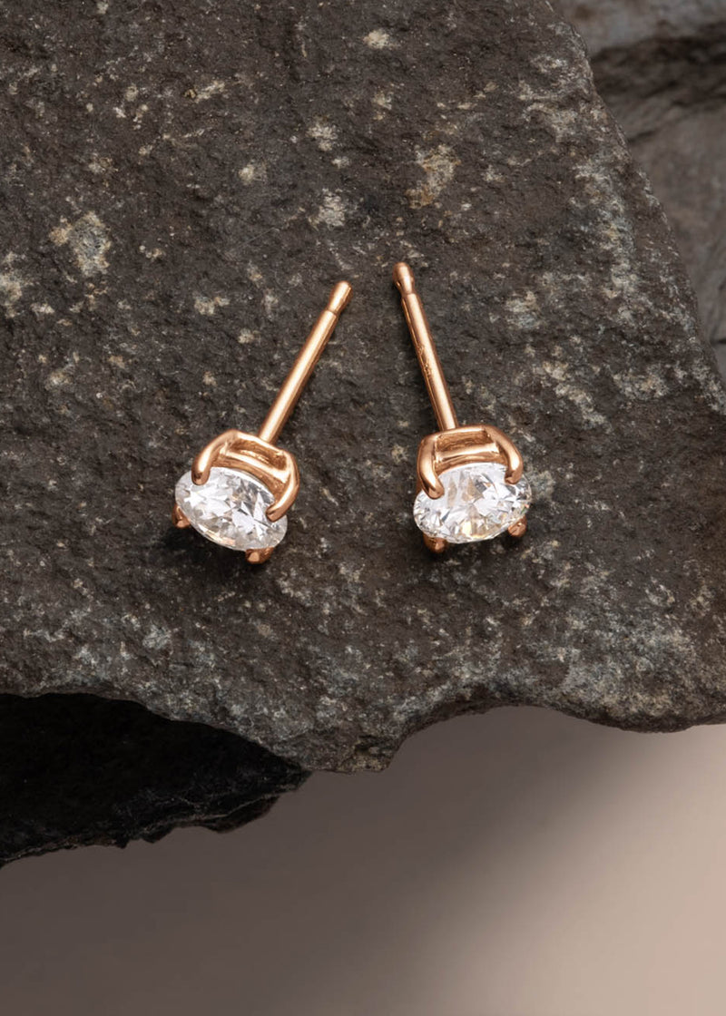 Rose Gold|1/3 Carat (Single)