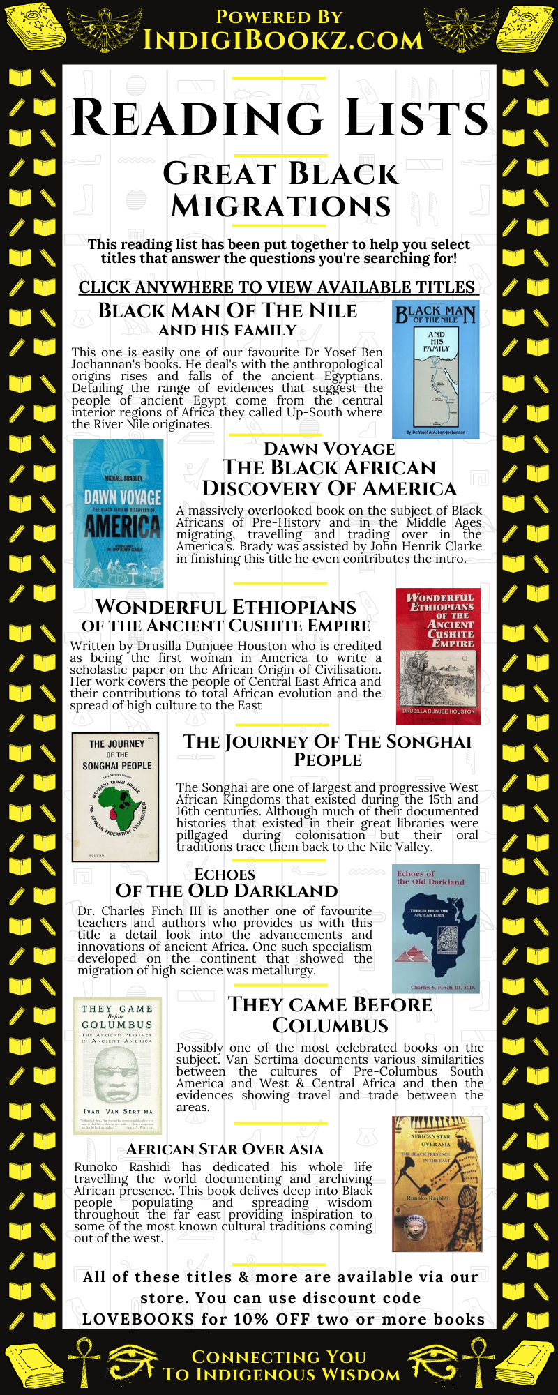 Black History Reading Lists: Great Black Migrations