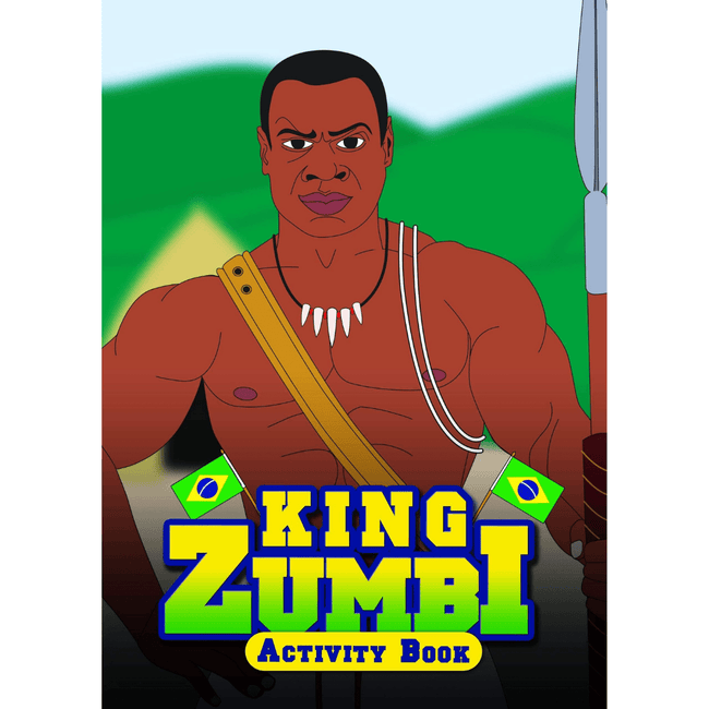 Black History Activity Books Activity Books UK King Zumbi Activity Book