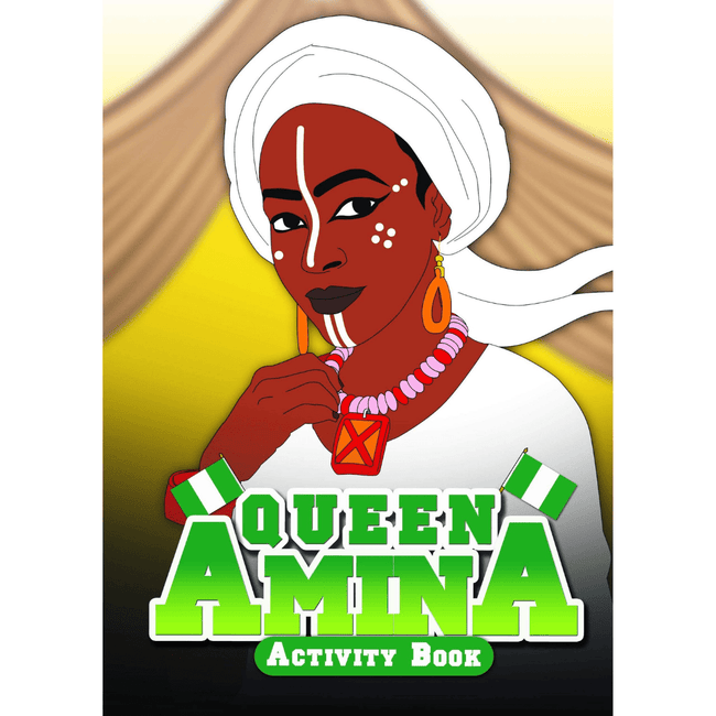 Black History Activity Books Activity Books UK Queen Amina Activity Book