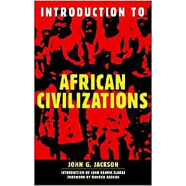 John G. Jackson Book UK Introduction to African Civilizations 978-0806521893