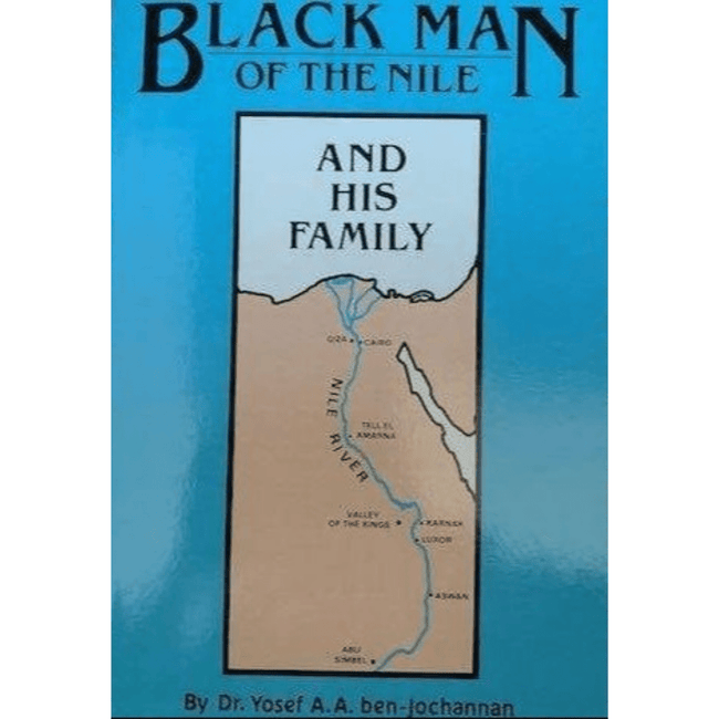 Yosef ben-Jochannan Book UK Black Man of the Nile 978-0933121263