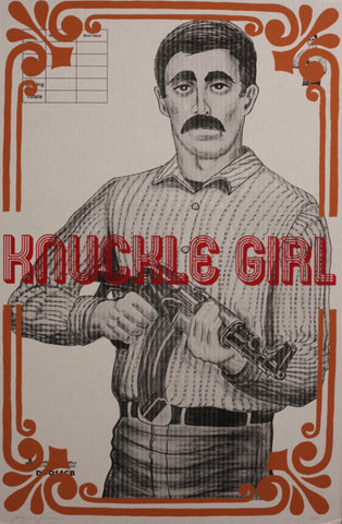 AARON ROSE, The Shooter (Knuckle Girl), 2015