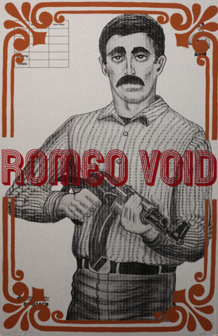 AARON ROSE, The Shooter (Romeo Void), 2015