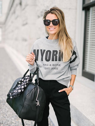 Two Ways Wearable New York City Sweatshirts