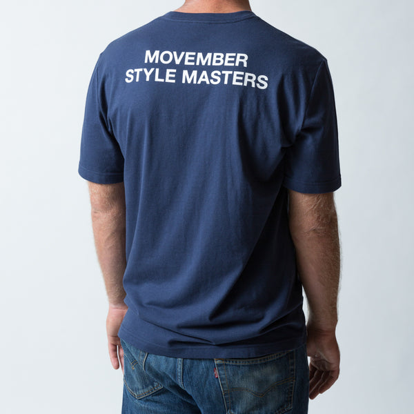 Buy official Movember Foundation moustache t-shirts online to support men's health | Movember.com