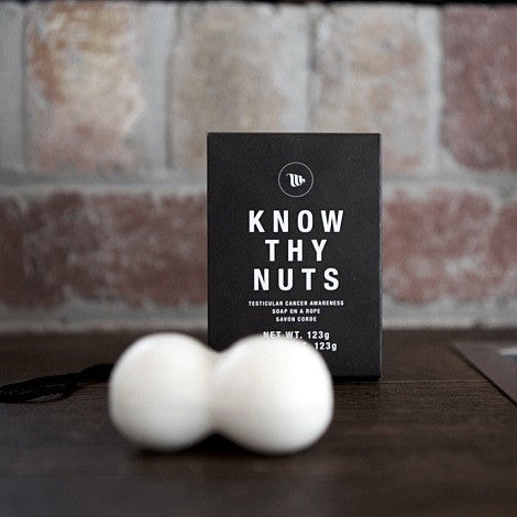 Know Thy Nuts Soap on a Rope