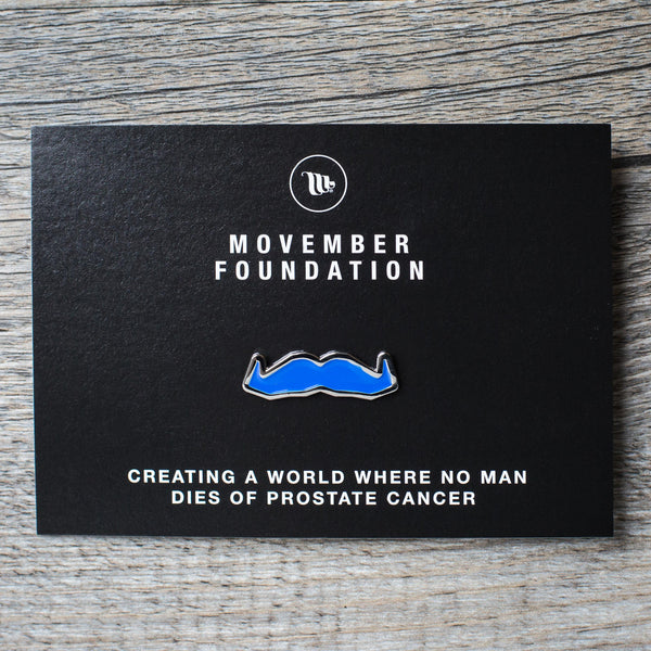 Movember Foundation Mo Pin