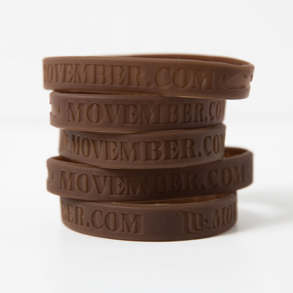 Buy the official Movember Foundation fundraising wristbands online | Movember.com