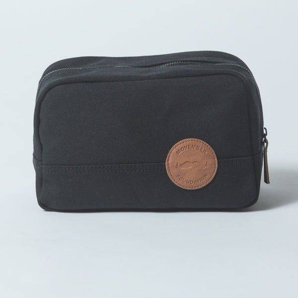 Buy the official Movember Foundation shave bag & dopp kit online to support men's health | Movember.com