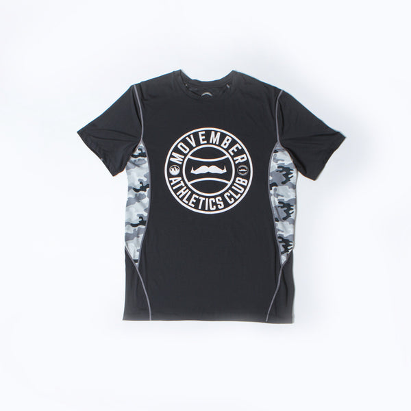 Buy official Movember Foundation tech workout t-shirts online to support men's health | Movember.com
