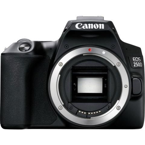 Canon EOS 250D Rebel SL3 24.1MP Digital SLR Camera with 18-55mm and Canon 55-250 IS II Lens