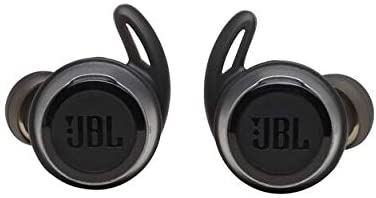 JBL Reflect Flow Truly Wireless Sport in-Ear Headphones Bundle with Sport Deluxe Hardshell Case (Black)