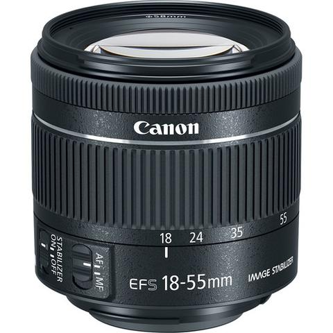 Canon EF-S Zoom Lens for Canon EF/EF-S - 18mm-55mm - F/4.0-5.6