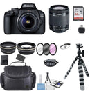 Canon EOS 4000D 18MP Digital SLR Camera with 18-55mm lens + Top Accessory Kit