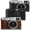 Fujifilm X100F 24.3 MP APS-C Digital Camera Brown or Silver