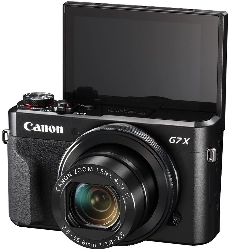 Canon PowerShot G7 X Mark II 20.1 MP Digital Camera (Black)