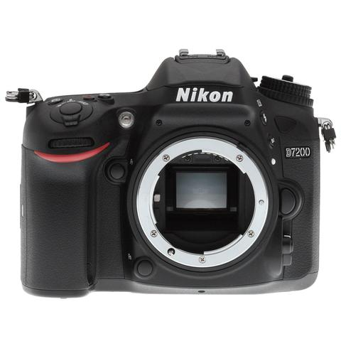 Nikon D7200 24.2MP Wi-Fi D-SLR Camera with 18-55mm Lens, 32GB Card and Camera Case