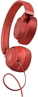 JBL TUNE 750BTNC - Wireless Over-Ear Headphones with Noise Cancellation - Coral