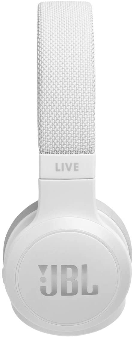 JBL LIVE 400BT Wireless On-Ear Headphones - White