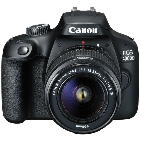 Canon EOS 4000D Kit with 18-55 III Lens Digital SLR Camera