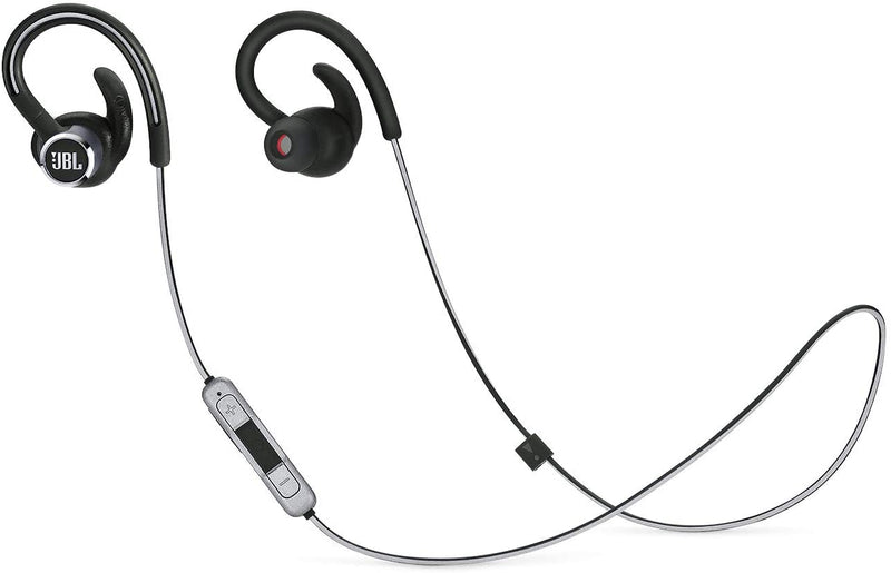 JBL Reflect Contour 2.0 - In-Ear Wireless Sport Headphone with 3-Button Mic/Remote - Black