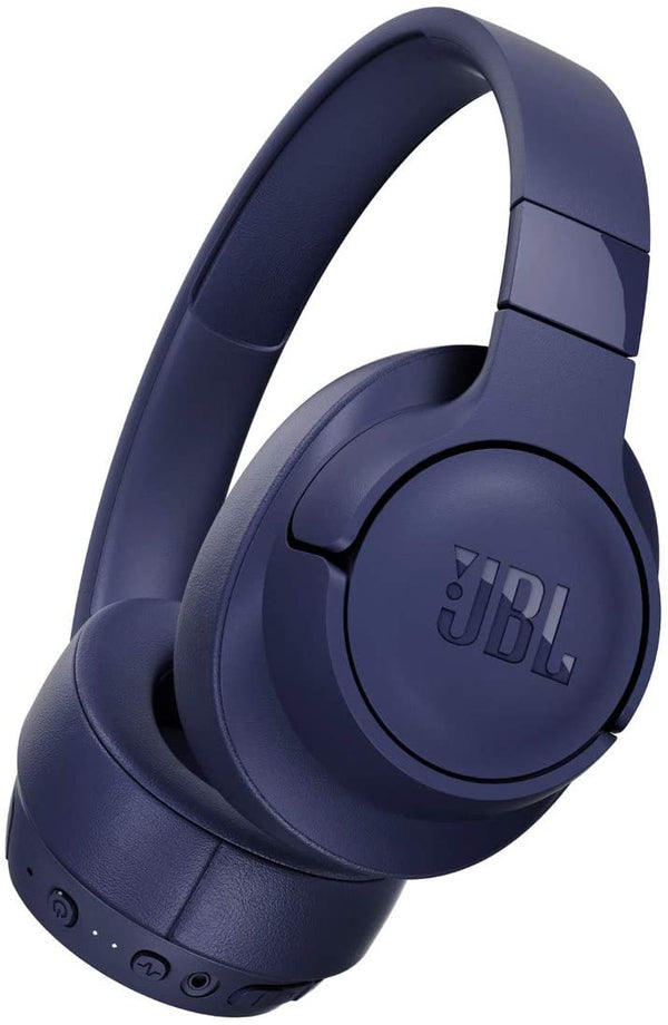 JBL TUNE 750BTNC - Wireless Over-Ear Headphones with Noise Cancellation - Blue
