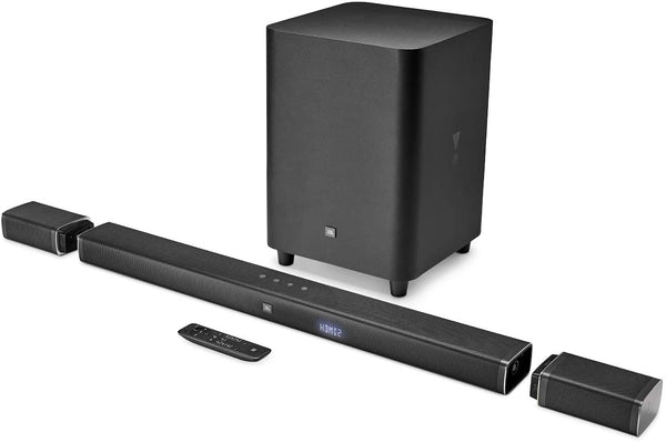 "JBL - 5.1-Channel Soundbar System with 10"" Wireless Subwoofer - Black"