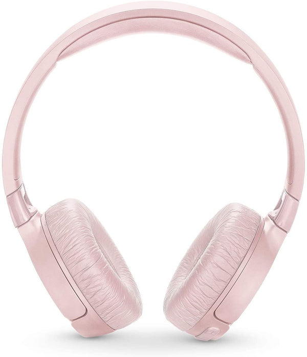 JBL - TUNE 600BTNC Wireless Noise Cancelling On-Ear Headphones - Pink