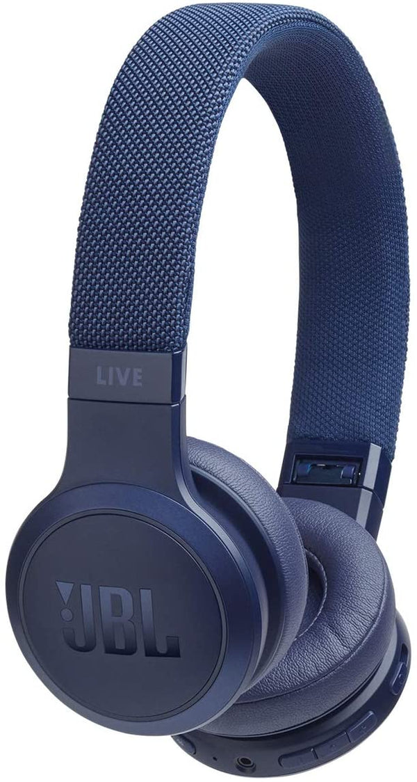 JBL - LIVE 400BT Wireless On-Ear Headphones - Blue