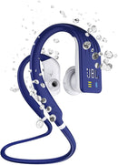 JBL Endurance Dive Waterproof Wireless In-Ear Sports Headphones with Built-in Mp3 Player (Blue)