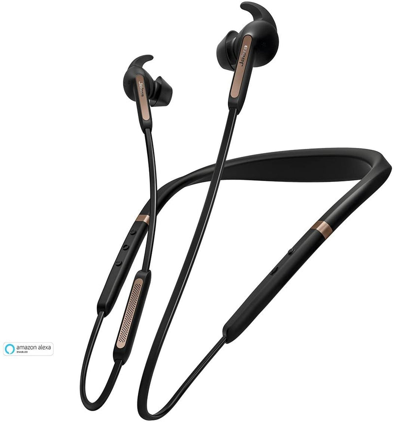 Jabra - Elite 45e Wireless In-Ear Headphones - Black/Copper