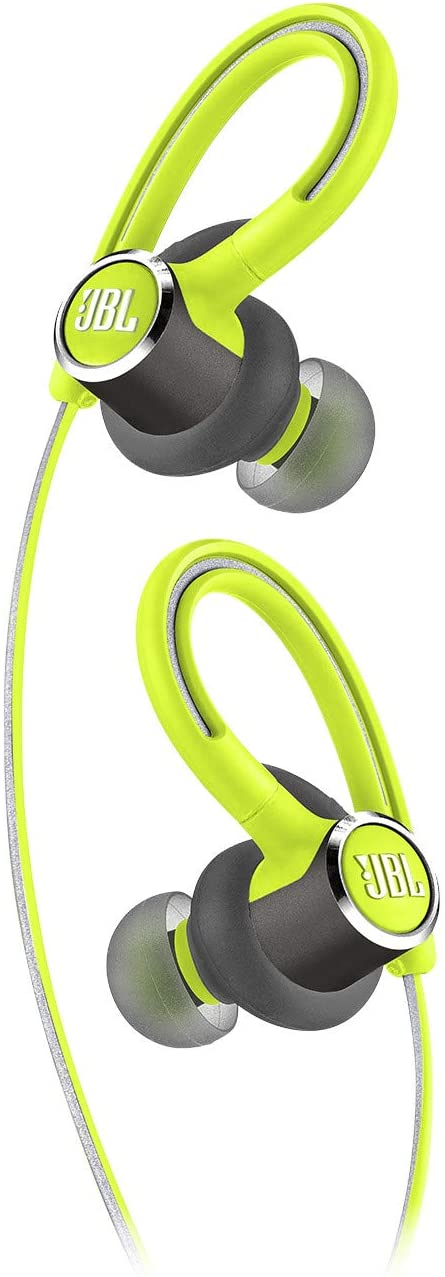 JBL Reflect Contour 2.0 - In-Ear Wireless Sport Headphone with 3-Button Mic/Remote - Green